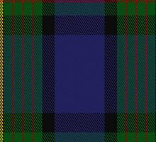 00075 Muir/Moore Clan Tartan Fabric Print Iphone Case by Detnecs2013
