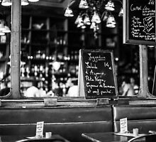 Cafe interior - Paris by Andrew & Mariya  Rovenko