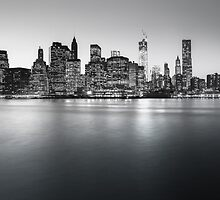 NYC Skyline - Skyscrapers of Lower Manhattan by Vivienne Gucwa