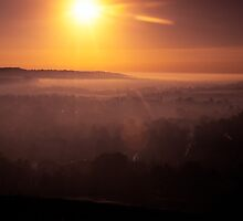 Golden Hour in the Thames Valley by Jim Hellier