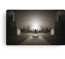 Guardians of the city Canvas Print