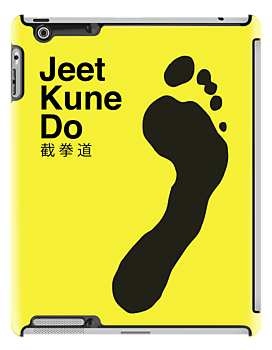 Bruce Lee Footprint Jeet Kune Do by mattpimm