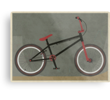BMX Bike Metal Print