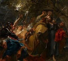 The Betrayal of Christ, c.1618-20 by Bridgeman Art Library