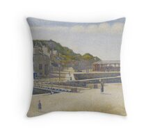 Port-en-Bessin, 1888 Throw Pillow