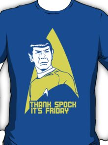 Thank Spock it's Friday T-Shirt
