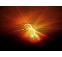 3 Moons © Photographic Print