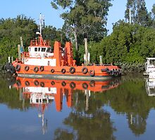 Tug Boat, Mary River, Maryborough, Queensland by Fred1947