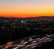 Traffic at Dusk by don thomas