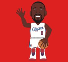 NBAToon of DeAndre Jordan, player of Los Angeles Clippers by D4RK0