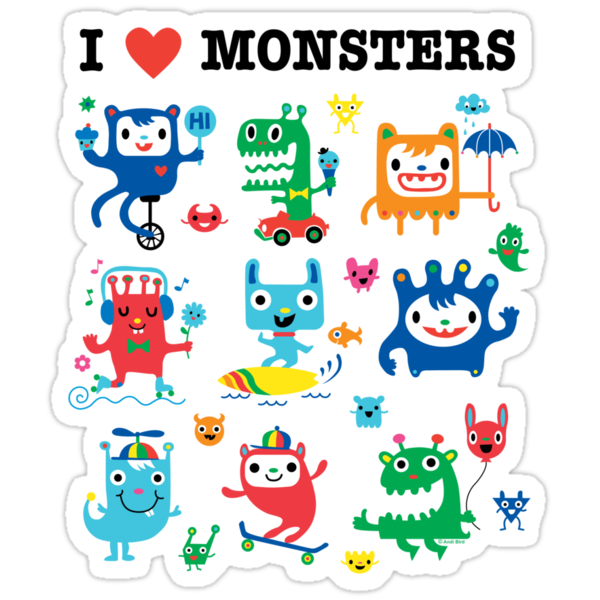Monster Love by Andi Bird