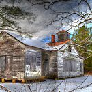 Old House in Charles City by Darryl Krauch