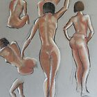Nude Study no.1 by widdy