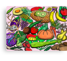 Food Glorious Food Canvas Print
