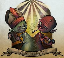 REPENT by johnnynocash