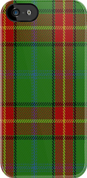 00113 Manitoba District Tartan Fabric Print Iphone Case by Detnecs2013