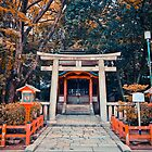 The Shrine, Kyoto by Kelly McGill