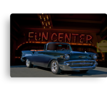 1957 Chevrolet Bel Air Convertible Canvas Print