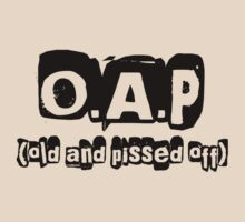 OAP T-Shirt by simpsonvisuals