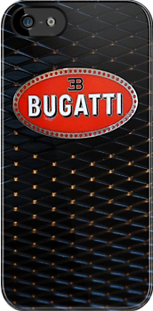 Bugatti Veyron Badge Grill iPhone by jlerner