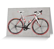 Race Bike Greeting Card