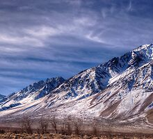 Sierra Nevada Mountain Range by Bob Melgar