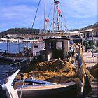 Sunrise & Fishing Boat by Francis Drake