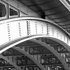 Southwark Bridge B&amp;W by photonista