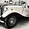 MG TD Mark ll  1952 by Warren. A. Williams