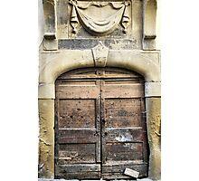 Swag Above-Arezzo, Italy Photographic Print
