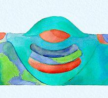 """""""Buddha Earth Mama"""" by Geoff Bell-Devaney"""