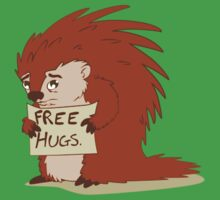 Porcupines just wanna hug Kids Clothes
