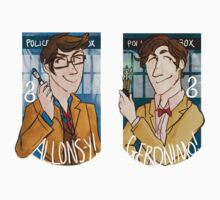 Tennant/Smith stickers by seppucrow