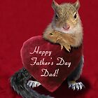 Father's Day Squirrel by jkartlife