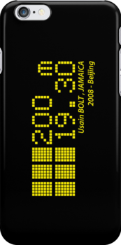 Usain BOLT - 200m - 2008 by NicoWriter