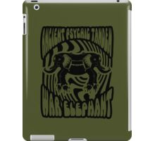 Ancient physic tandem war elephant iPad Case/Skin