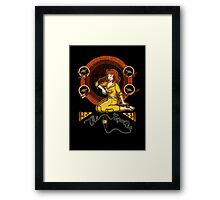 The Reporter Framed Print