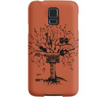 Melody Tree - Dark Silhouette Samsung Galaxy Case/Skin