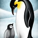 Penguins by Ine Spee