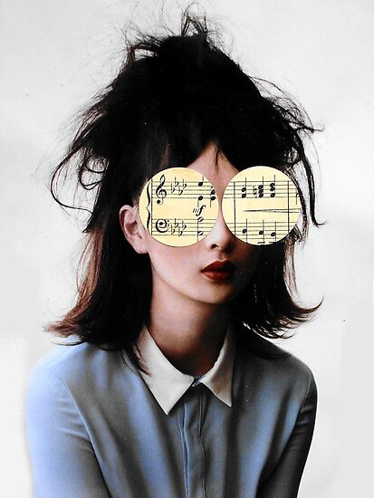 she had music in her eyes by Loui  Jover