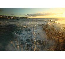 Sunrise Splash Photographic Print