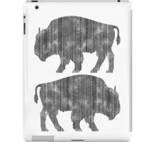 Weathered Buffalo iPad Case/Skin