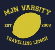 MJN Varsity- Travelling Lemon T-Shirt