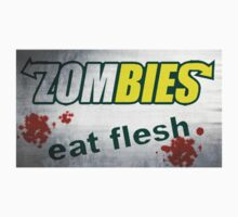 Zombies Eat Flesh Grunge - Subway Spoof by sturgils