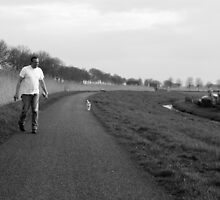 My dog and me by steppeland