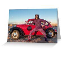 Rocker in the Desert Greeting Card