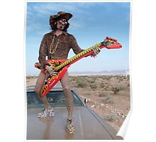 Leopard Rocker Poster
