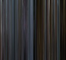 Moviebarcode: The Bourne Identity (2002) by moviebarcode
