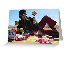 Mr Las Vegas Greeting Card