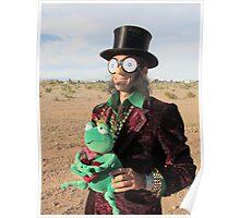 Top Hat Man Poster